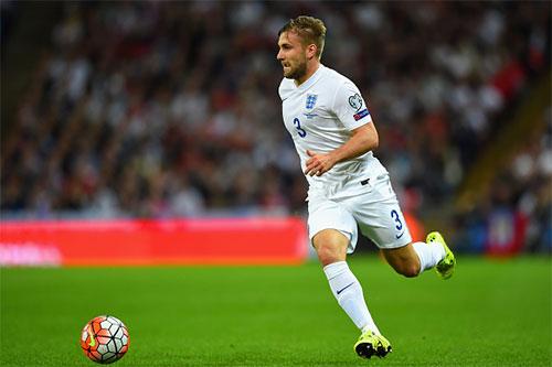 Luke Shaw vẫn có một suất tại ở ĐT Anh và Euro 2016